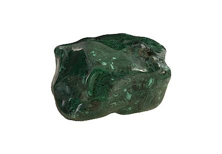 Malachite Stone Polished