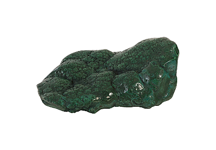 Malachite Sculpture Polished