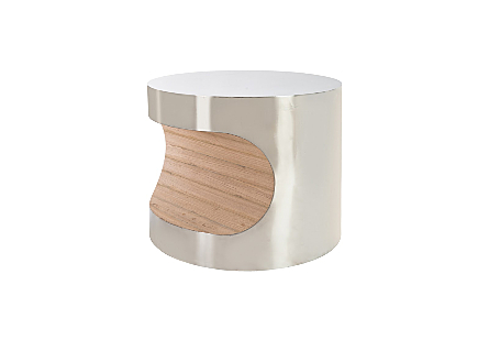Bite End Table Stainless Steel