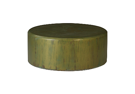 Button Coffee Table Lichen Finish