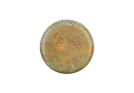 Button Wall Tile Deep, Lichen Finish, SM