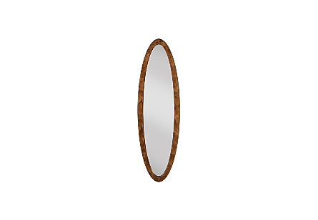 Elliptical Oval Mirror Von Braun, SM