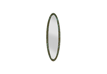 Elliptical Oval Mirror Lichen, SM