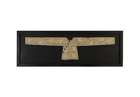 Lighted Kimono Framed Rectangle, LG