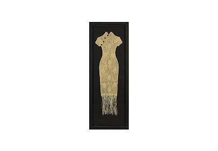 Threaded Kimono Wall Art Tall