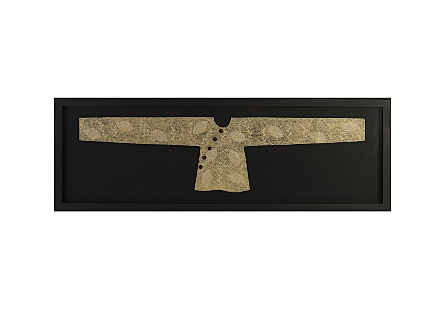 Threaded Kimono Wall Art Rectangle, LG