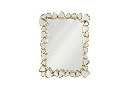 Pebble Mirror Rectangle