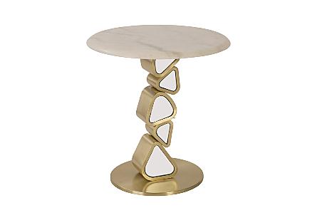 Pebble End Table
