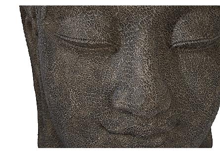 Buddah Head Illuminated Sculpture