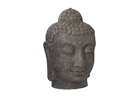 Buddah Head Illuminated Sculpture