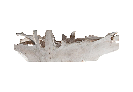 Teak Root Console Bleached