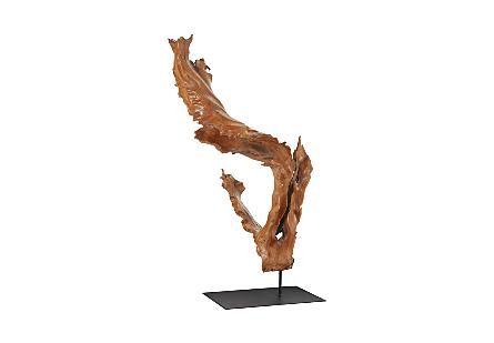 Mahoni Wood Sculpture