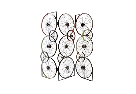 Bicycle Wheel Screen Assorted