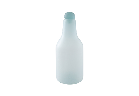 Frosted Glass Bottle LG