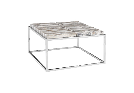 Onyx Coffee Table SS Base