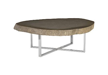 Stone Slab Coffee Table