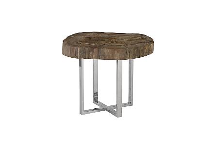 Petrified Wood Coffee Table MD