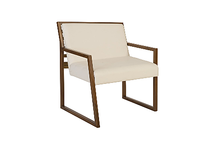 Ladder Slant Arm Chair  Right