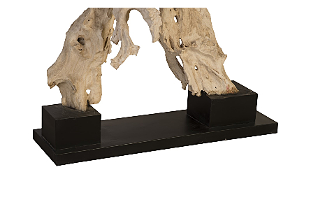 Teak Root sculpture on Stand