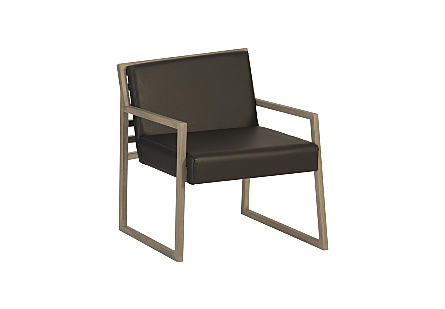 Ladder Slant Arm Chair Left
