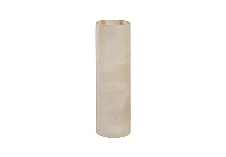 Onyx Cylindrical Lamp Amber