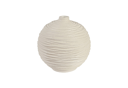 Waves Sphere Vase