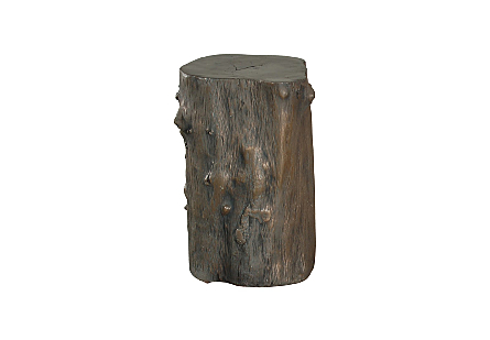Log Stool Bronze, SM