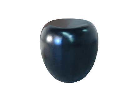 River Stone Side Table Black