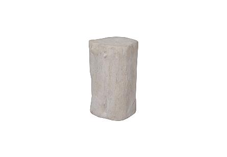 Log Stool Roman Stone, SM
