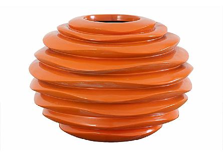 Spiral Planter Orange, SM