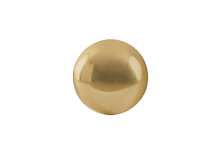 Floor Ball Gold Leaf, SM