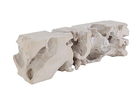 Freeform Bench Roman Stone