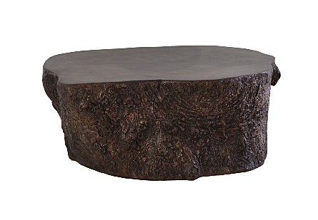 Bark Coffee Table Bronze