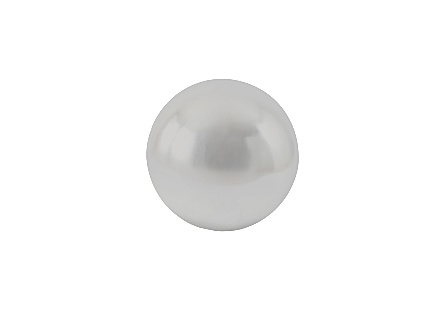 Floor Ball Silver Leaf, SM