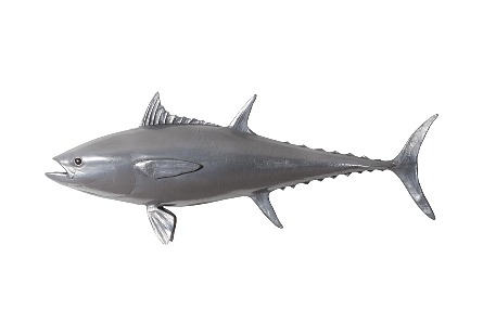 Bluefin Tuna Fish Polished Aluminum