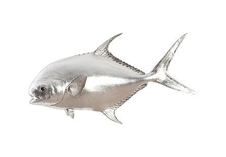 Permit Fish Silver Leaf