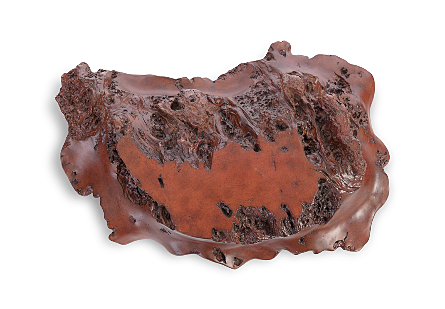 Burled Wall Art Faux Rosewood