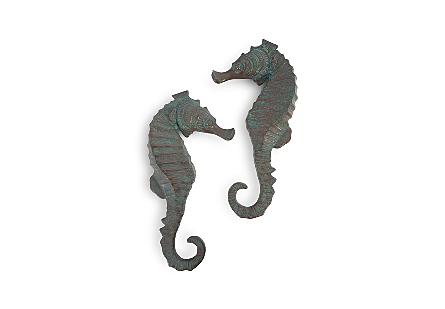 Seahorse Wall Art Set of 2, LG
