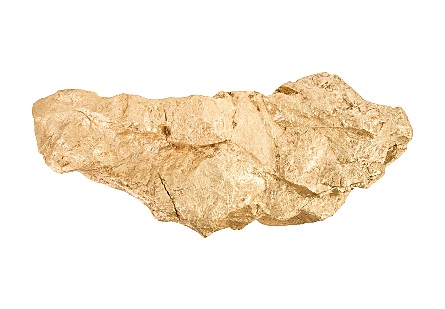 Boulder Shelf Gold Leaf, LG