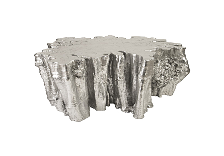 Colossal Root Dining Table Silver Leaf