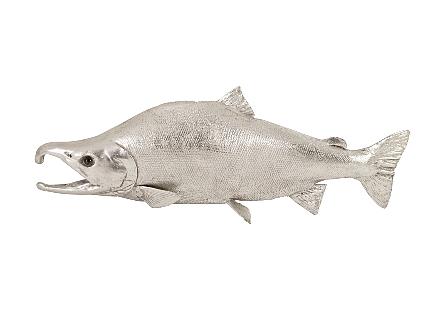 Sockeye Salmon Fish Silver Leaf