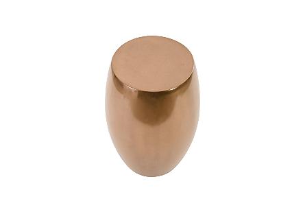 Vex Side Table Polished Bronze