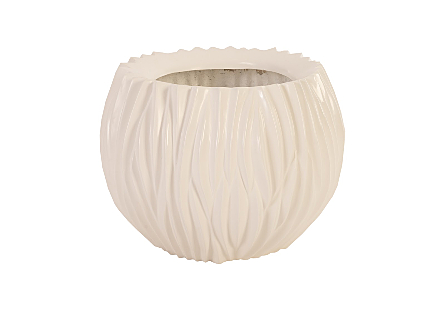 Alon Planter Gel Coat White