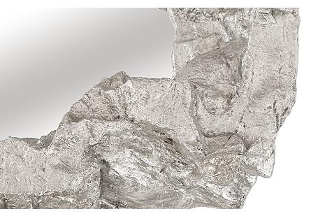 Rock Pond Mirror Silver Leaf