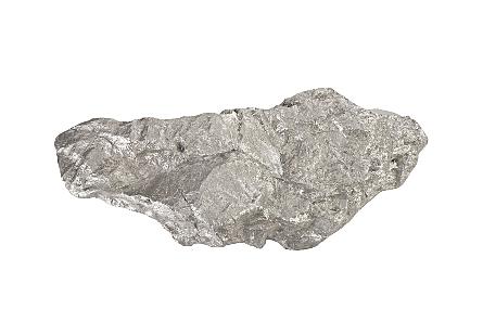 Boulder Shelf Silver Leaf, LG