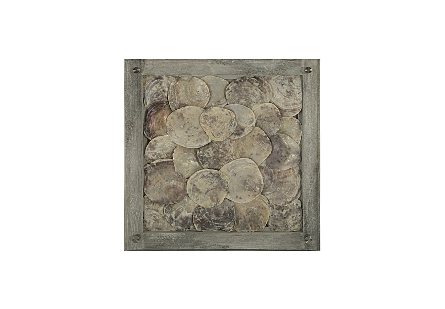 Shell Wall Tile w/Glass