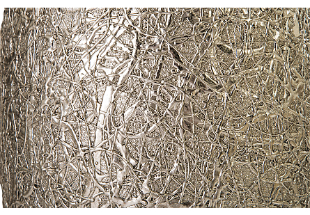 String Theory Planter Silver Leaf, MD