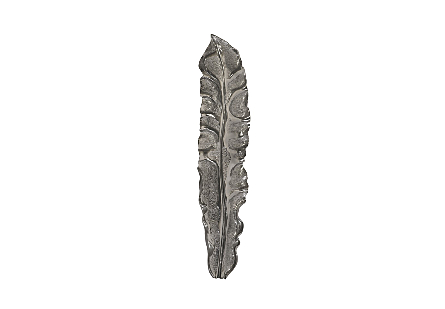 Petiole Wall Leaf Liquid Silver, LG, Version B