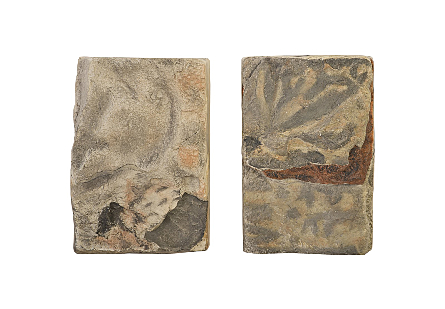 Cast Onyx Wall Tile Set of 2