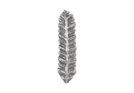 Petiole Wall Leaf Silver, MD, Version B